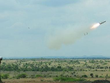 Lightweight anti-tank guided missile successfully tested by DRDO; defence ministry says 'all mission objectives met'