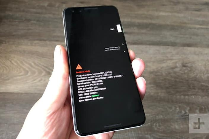 Pixel 3 recovery mode