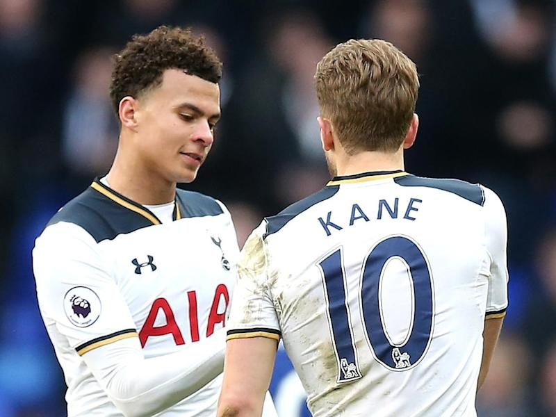 Kane and Alli possess a superb offensive partnership (Tottenham Hotspur FC via Getty)