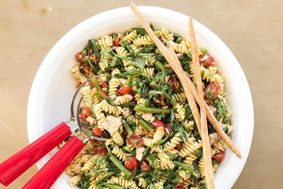 Fusilli at half-price to celebrate World Pasta Day. Getty Images