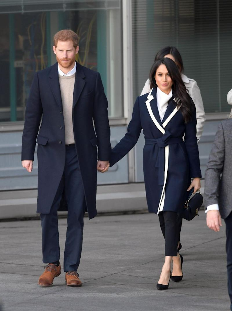 The duo were in Birmingham for International Women's Day. Photo: Getty Images
