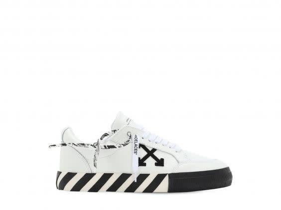 Step out in style with these black and white trainers (Off-White)