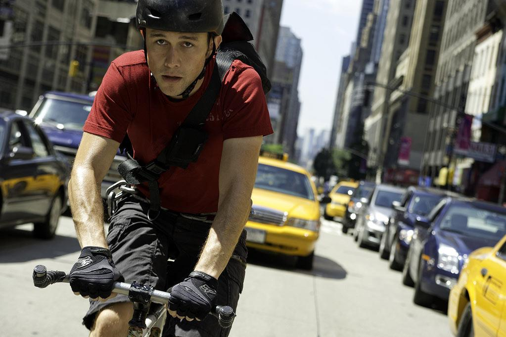 """""""PREMIUM RUSH"""" – Joseph Gordon-Levitt stars as a Manhattan bicycle messenger who is pursued throughout the city after he picks up a package. David Koepp directs and co-wrote """"Rush"""" with John Kamps. Koepp knows his way around a high-concept movie, having written 2002's """"Panic Room."""" He's also doing the script for Universal's sequel to """"Snow White and the Huntsman."""" Gordon-Levitt's star is in ascendancy, coming off """"The Dark Knight Rises"""" with """"Looper"""" and """"Abraham Lincoln"""" on the way later this year. Sony is opening it on August 24."""