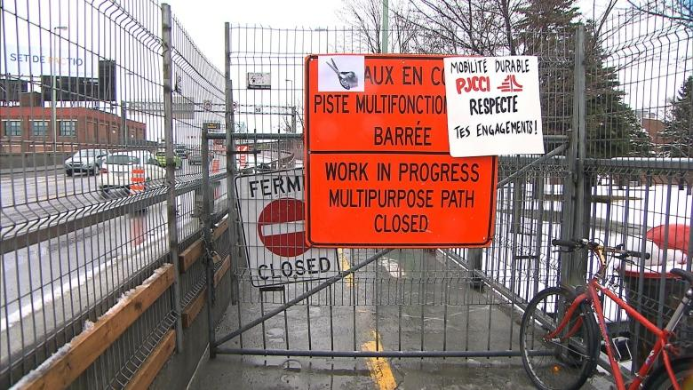 Feds to pay $2M to clear snow from Jacques Cartier Bridge bike path, but keep it closed