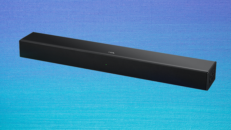 Listen closely: This soundbar is on sale for only $49. (Photo: Amazon)