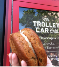 <p>Originally at a little shop called The Writer's Stop (#TBT!), the Carrot Cake Sandwich was all the rage in the '90s. </p>