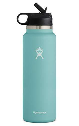 """<p><strong>Hydro Flask</strong></p><p>amazon.com</p><p><strong>41.00</strong></p><p><a href=""""https://www.amazon.com/dp/B083GBY9SB?tag=syn-yahoo-20&ascsubtag=%5Bartid%7C10055.g.27312224%5Bsrc%7Cyahoo-us"""" rel=""""nofollow noopener"""" target=""""_blank"""" data-ylk=""""slk:Shop Now"""" class=""""link rapid-noclick-resp"""">Shop Now</a></p><p>These Hydro Flask water bottles are insanely popular on Amazon — <strong>we're talking over 27,000 reviews and the #1 spot on the best-seller's list. </strong>Both the 32-ounce and <a href=""""https://www.amazon.com/Hydro-Flask-Water-Bottle-Stainless/dp/B083GBLZVG?tag=syn-yahoo-20&ascsubtag=%5Bartid%7C10055.g.27312224%5Bsrc%7Cyahoo-us"""" rel=""""nofollow noopener"""" target=""""_blank"""" data-ylk=""""slk:40-ounce bottles"""" class=""""link rapid-noclick-resp"""">40-ounce bottles</a> have wide mouths, so you can easily fit in ice cubes (don't worry: they can be used for hot drinks, too!). This version comes with a straw lid for easy sipping, but you can purchase <a href=""""https://www.amazon.com/dp/B01N7T8QBH/?tag=syn-yahoo-20&ascsubtag=%5Bartid%7C10055.g.27312224%5Bsrc%7Cyahoo-us"""" rel=""""nofollow noopener"""" target=""""_blank"""" data-ylk=""""slk:different lids"""" class=""""link rapid-noclick-resp"""">different lids</a> separately. </p>"""