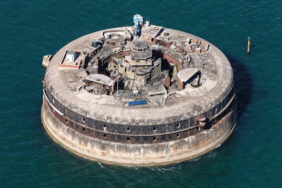 Those looking for a project might consider buying Horse Sand Fort for £750,000. (Strutt & Parker)