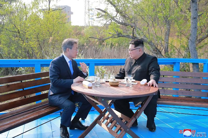 Kim Jong Un plans to shut down North Korea's nuclear test site in May, Seoul says (AFP Photo/STR)