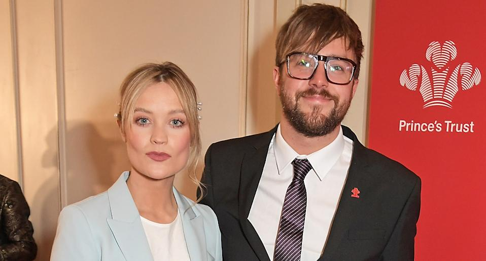 Laura Whitmore and Iain Stirling are expecting a baby. (Photo by David M. Benett/Dave Benett/Getty Images)