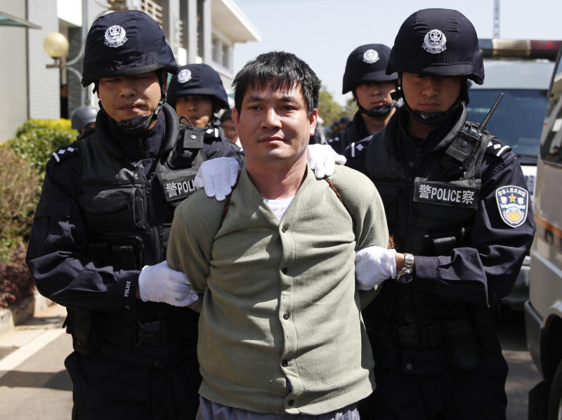 China executes 4 foreigners over Mekong murders