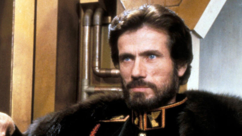 Jürgen Prochnow as Duke Leto Atreides in the 1984 adaptation of 'Dune'. (Credit: Universal)