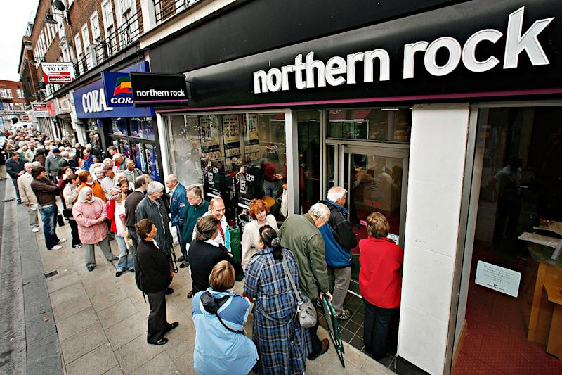 Northern Rock collapsed in 2007 and five years later the government sold the mortgages to Cerberus: Peter Macdiarmid/Getty Images