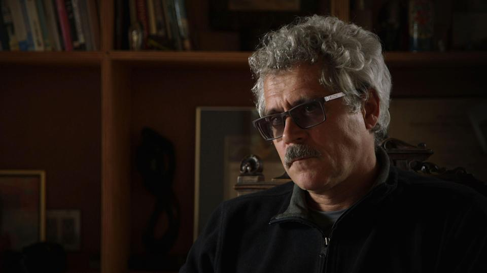 """Grigory Rodchenkov is interviewed in """"Icarus,"""" a documentary released this year. (Netflix/Kobal/REX/Shutterstock)"""