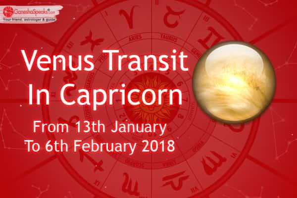 Know How Will The Venus Transit In Capricorn Influence Your Life
