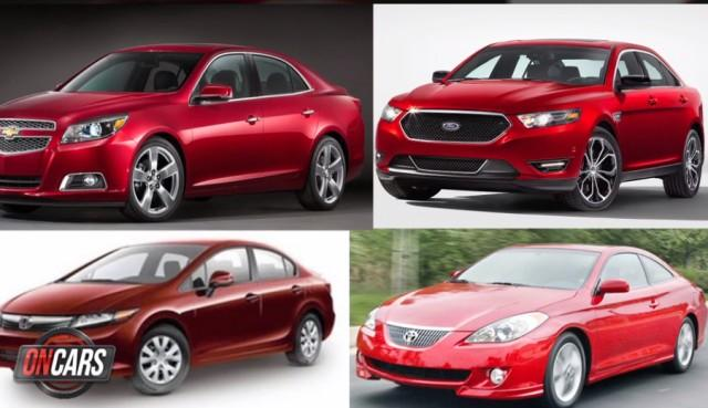Front portion of sedans are almost alike