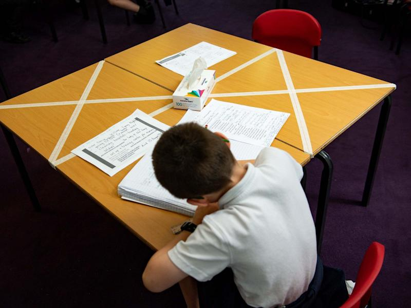 Phased approach will be used to allow for staggered starts, lessons and breaks in Welsh schools: Jacob King/PA