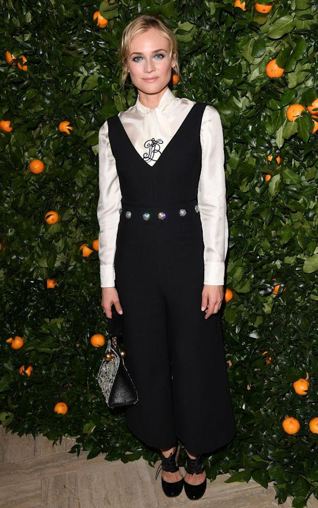 Diane Kruger in Tory Burch (Photo: Getty Images)