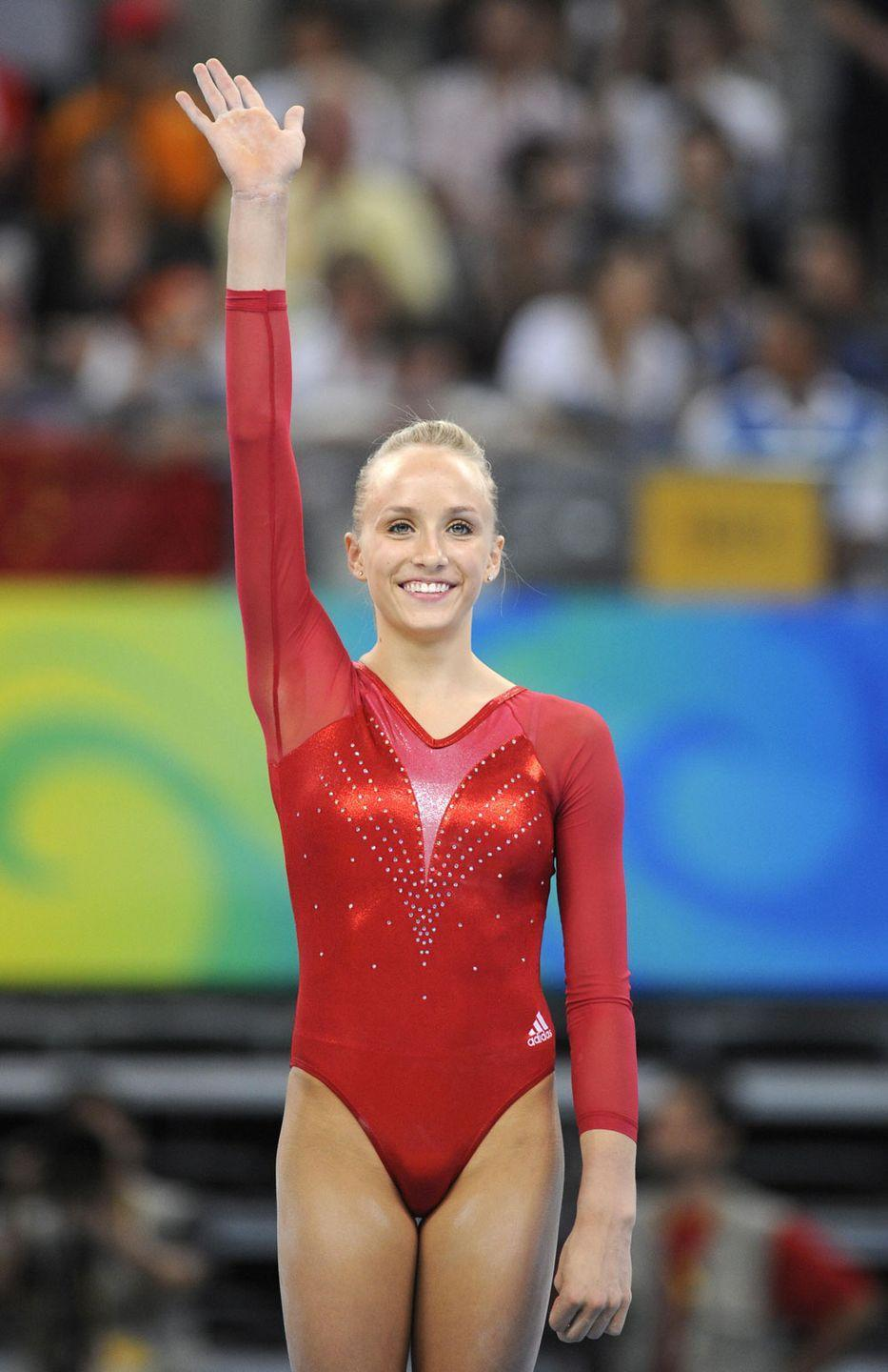 <p><em>Nastia Liukin</em><br></p><p>And again. Is anyone else starting to notice a trend?</p>