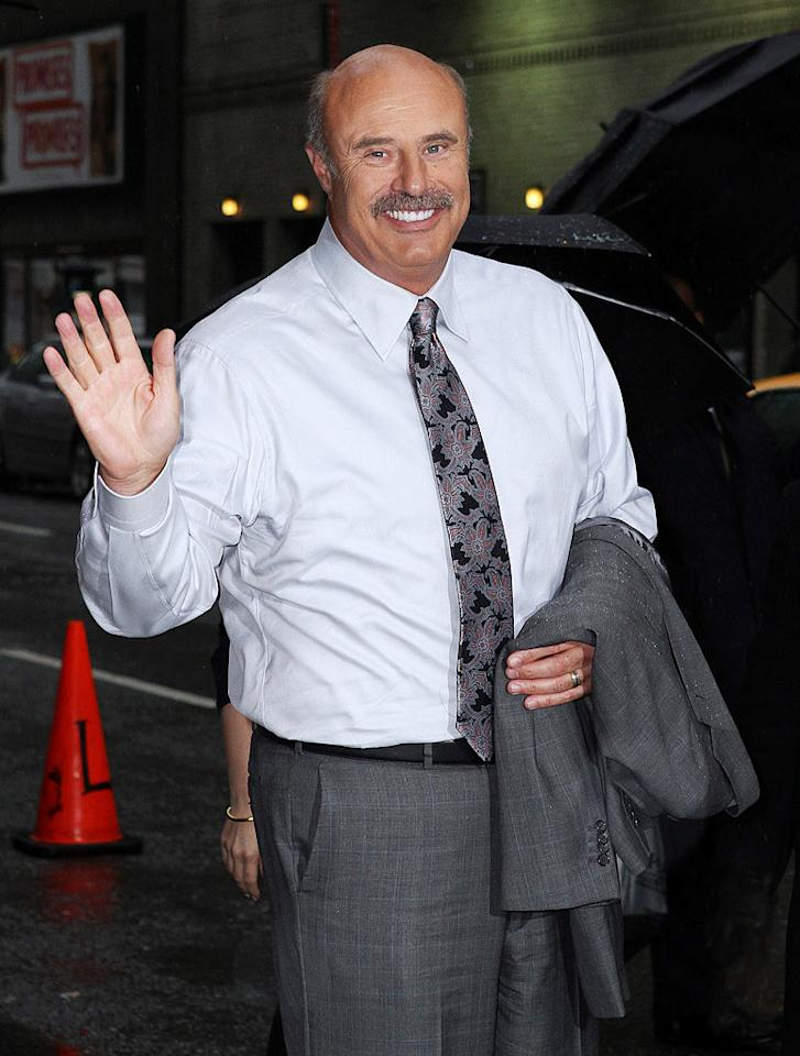 """September 1: """"Dr. Phil"""" McGraw turns 60 Donna Ward/<a href=""""http://www.gettyimages.com/"""" target=""""new"""">GettyImages.com</a> - April 26, 2010"""