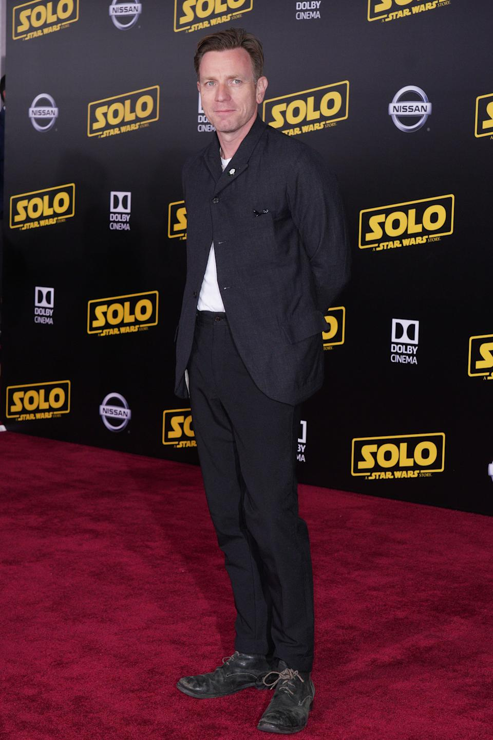 Ewan McGregor at the Premiere Of Disney Pictures And Lucasfilm's 'Solo: A Star Wars Story' held at El Capitan Theater on May 10, 2018 in Hollywood, CA, USA (Photo by JC Olivera/Sipa USA)