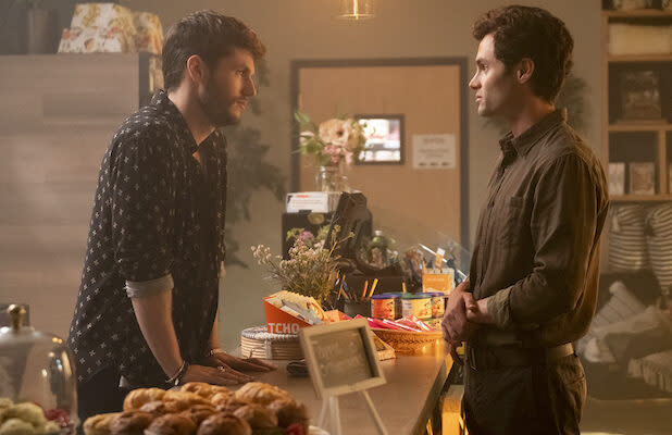 'You' Season 2: James Scully Says His Character Forty Has a 'VERY Close' Relationship With Joe (Video)