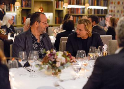 Jean Reno and Ludovic du Plessis at the release of