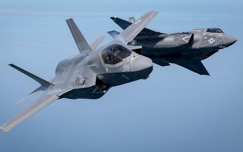 Modern aircraft such as the F-35B rely increasingly on networked electronics that could potentially be hacked. - 2016 Getty Images