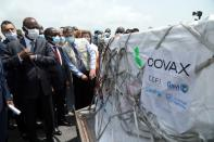 FILE PHOTO: Ivory Coast receives second batch of COVID-19 vaccines from COVAX scheme