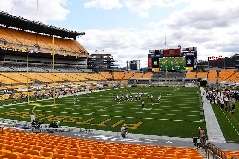 PITTSBURGH, PA - SEPTEMBER 27: A general view of Heinz Field during the game between the Houston Texans and the Pittsburgh Steelers at Heinz Field on September 27, 2020 in Pittsburgh, Pennsylvania. (Photo by Joe Sargent/Getty Images)
