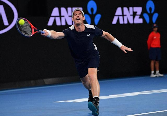 Andy Murray goes down fighting in Australian Open farewell (AFP Photo/SAEED KHAN)