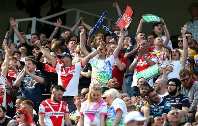 Widnes Vikings v St Helens – Betfred Super League – Magic Weekend – St James' Park