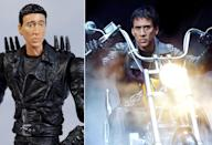 <p>When I think of Nic Cage's 'Ghost Rider' biker, I think of terrifying gauntness and an extra-long neck. (Photo: Mwctoys/Everett)</p>