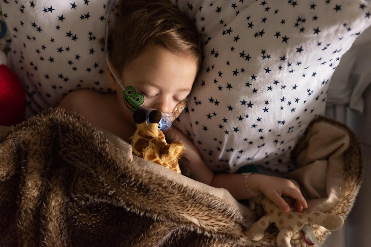 Many hospitals are seeing a spike in cases of respiratory syncytial virus or RSV in kids. Here's why the typically winter virus may be spreading. (Photos: Getty Images)