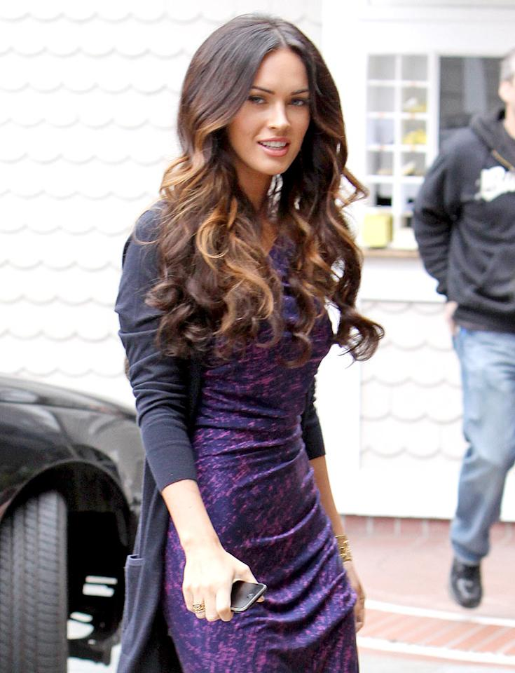 "Celebrity hairstyles were big last week ... literally. Megan Fox stepped out in Santa Monica on Monday with lots of lightened locks. <a href=""http://www.x17online.com"" target=""new"">X17 Online</a> - April 27, 2009"