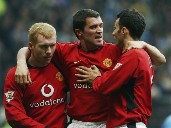 Scholes, Keane and Giggs have all attempted management careers (Getty)