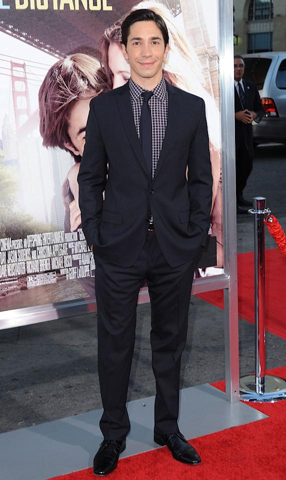 "<a href=""http://movies.yahoo.com/movie/contributor/1804512153"">Justin Long</a> at the Los Angeles premiere of <a href=""http://movies.yahoo.com/movie/1810105852/info"">Going the Distance</a> - 08/23/2010"