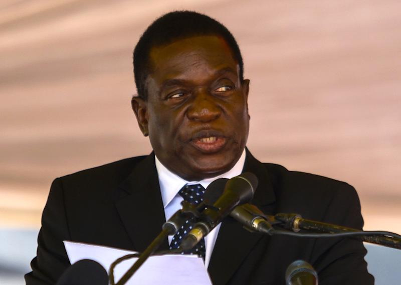 "Emmerson Mnangagwa has been sacked as vice president by President Robert Mugabe who accused him of being ""disloyal"""