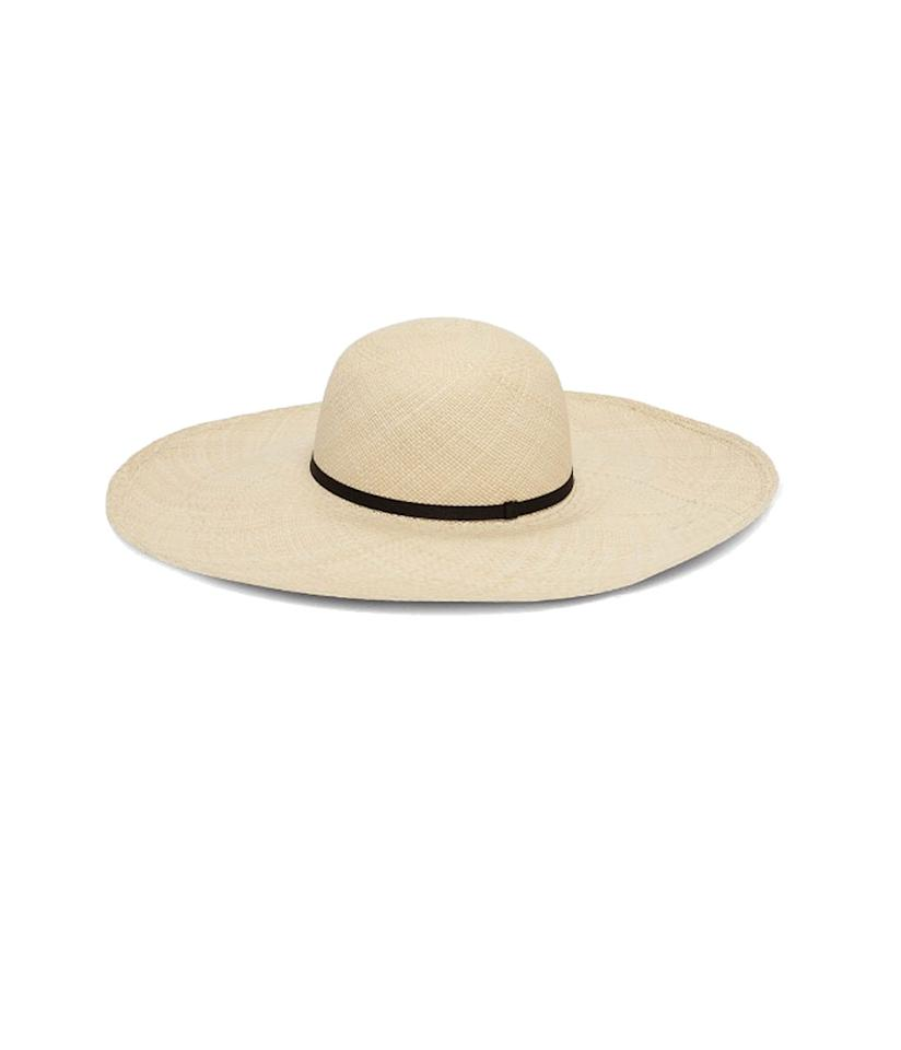 "<p>Oversized Straw Beach Hat, $85, <a rel=""nofollow"" href=""https://www.cuyana.com/oversized-straw-beach-hat.html#black"">cuyana.com</a> </p>"