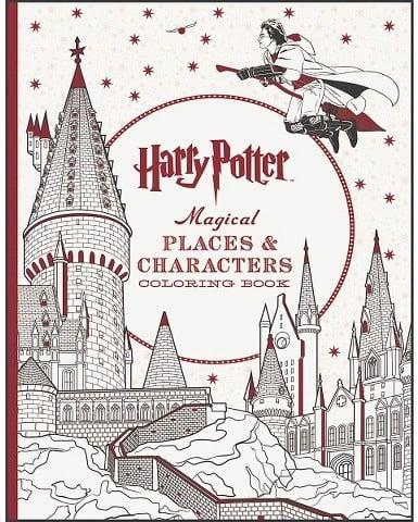 """<p><a class=""""link rapid-noclick-resp"""" href=""""https://www.popsugar.com/Harry-Potter"""" rel=""""nofollow noopener"""" target=""""_blank"""" data-ylk=""""slk:Harry Potter"""">Harry Potter</a> fans will love keeping busy with this <span> Magical Places &amp; Characters Coloring Book</span> ($10).</p>"""