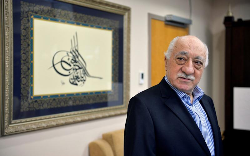 U.S. based cleric Fethullah Gulen at his home in Saylorsburg, Pennsylvania - Credit: Reuters