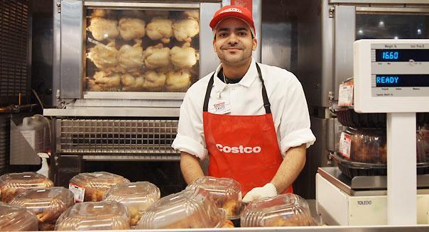 Costco workers pay