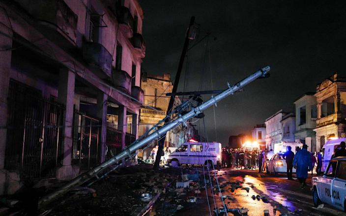 172 people were also injured in the tornado that hit the Cuban capital late on Sunday - AFP