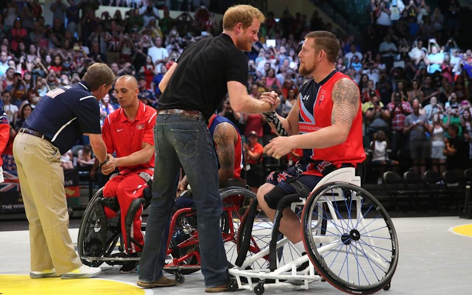 Gosling oversaw the 2016 Invictus Games in the US