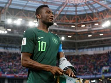 Former Chelsea midfielder John Obi Mikel calls time on international career with Nigeria after Africa Cup of Nations