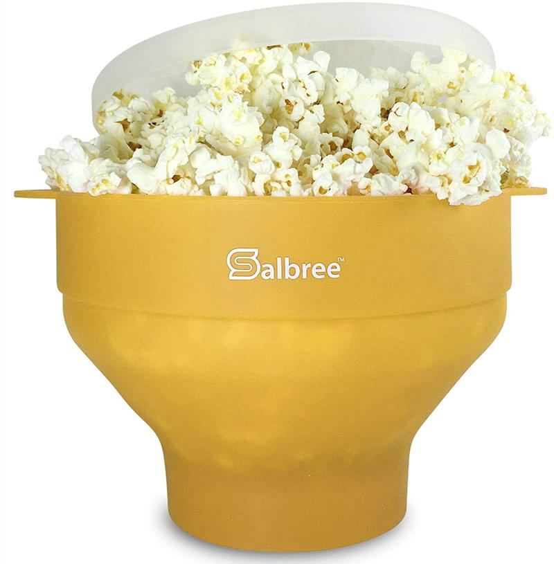 Salbree Microwave Popcorn Popper. (Photo: Amazon)
