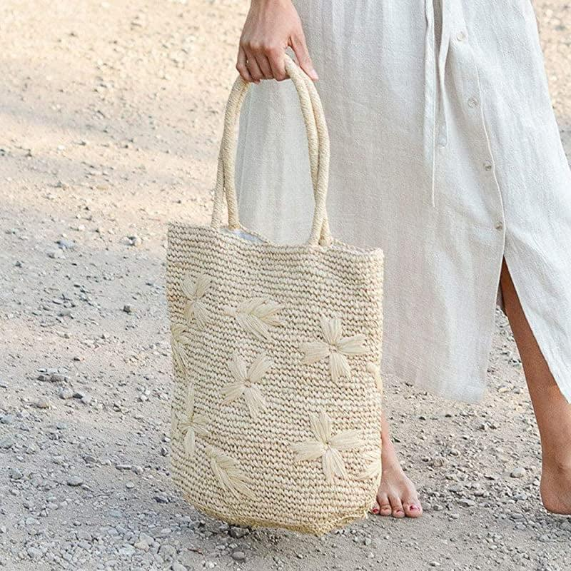 """<p>The ultra-chic <span>15"""" Floral Embroidered Raffia Tote Bag</span> ($138) is hand-woven with a magnetic closure. Whether they're going to run errands or go to the park, this tote can be carried whenever, wherever.</p>"""