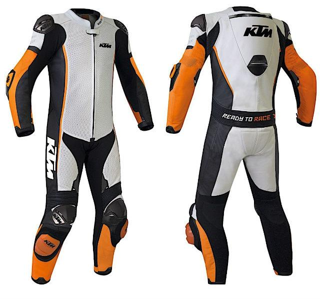 KTM one-piece custom bike suit
