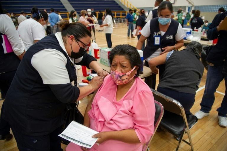 Mexico is pressing on with its vaccination programme as coronavirus deaths near 200,000