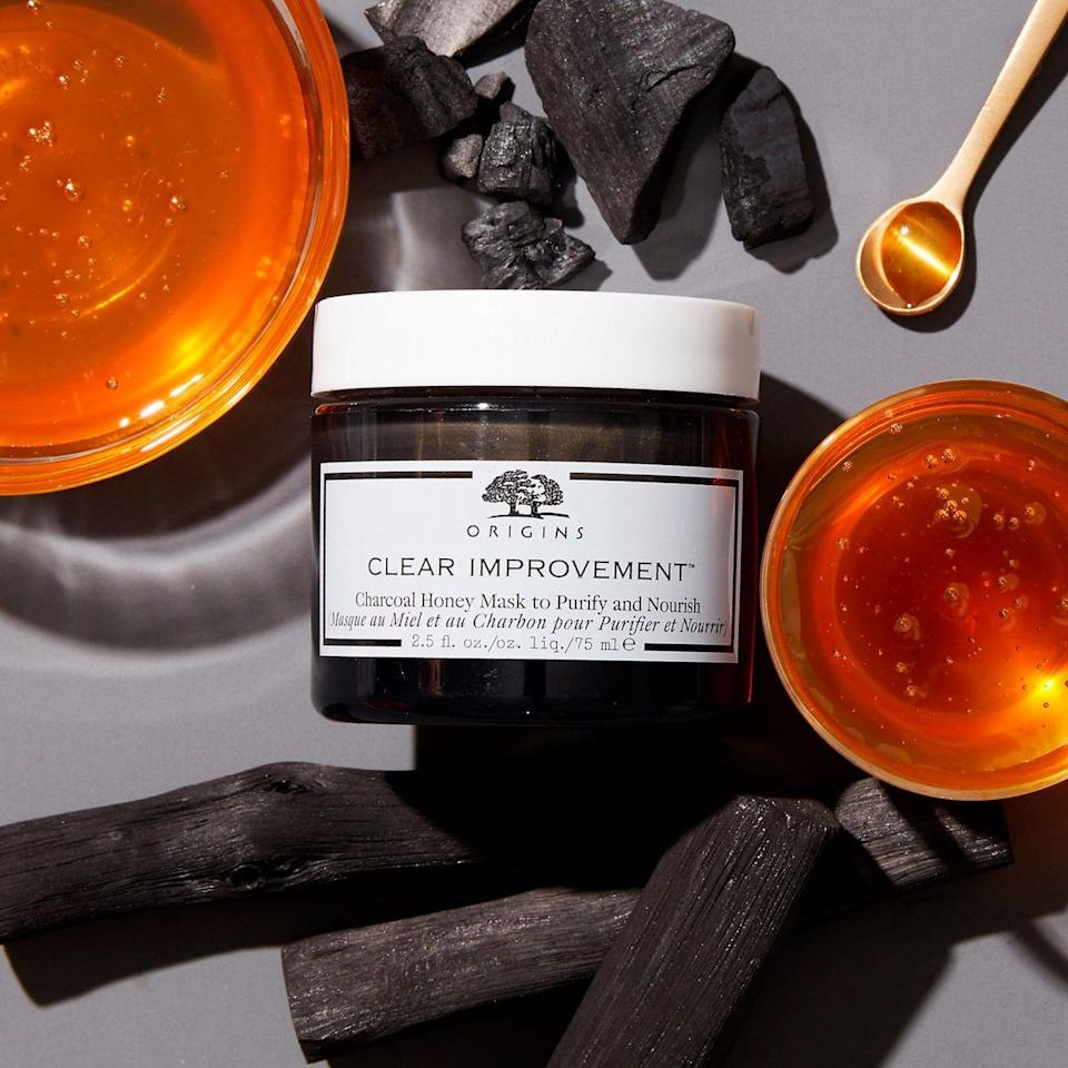 <p>Honey is known to be hydrating, and charcoal is known to be deeply cleansing, so to bring the two together is basically the holy grail of skin care. Consider this <span>Origins Clear Improvement Charcoal Honey Mask to Purify and Nourish</span> ($34) the new star of your beauty routine, especially if you have acne-prone skin.</p>